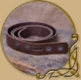Leather Belt without buckle